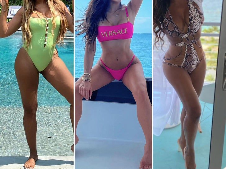 'Real Housewives All-Stars' Cast Hot Bods -- Guess Who!