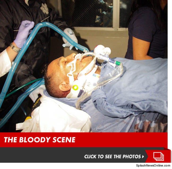 "Hector ""Macho"" Camacho -- The Bloody Scene"