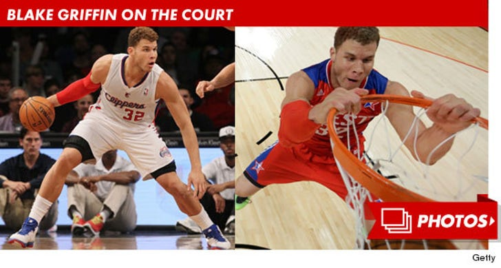 Blake Griffin on the Court