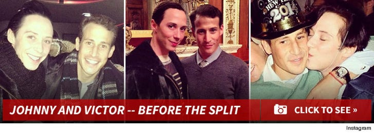 Johnny Weir and Victor -- Through the Years