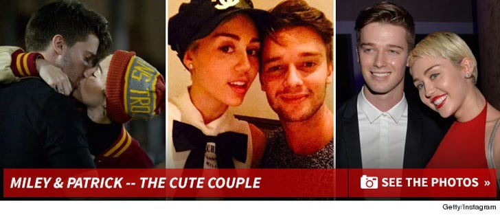 Miley Cyrus & Patrick Schwarzenegger -- Before the Split