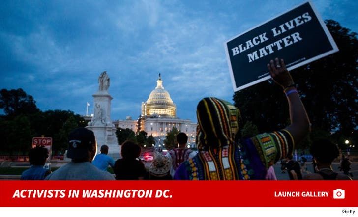 Activists at White House and Capitol Hill