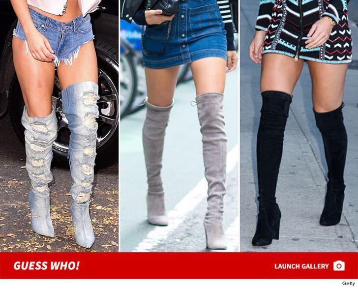 Fall's Thigh High Hotties -- Guess Who
