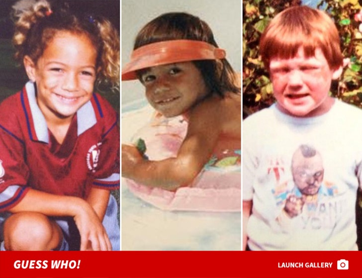 WWE Superstar Throwbacks -- Guess Who!