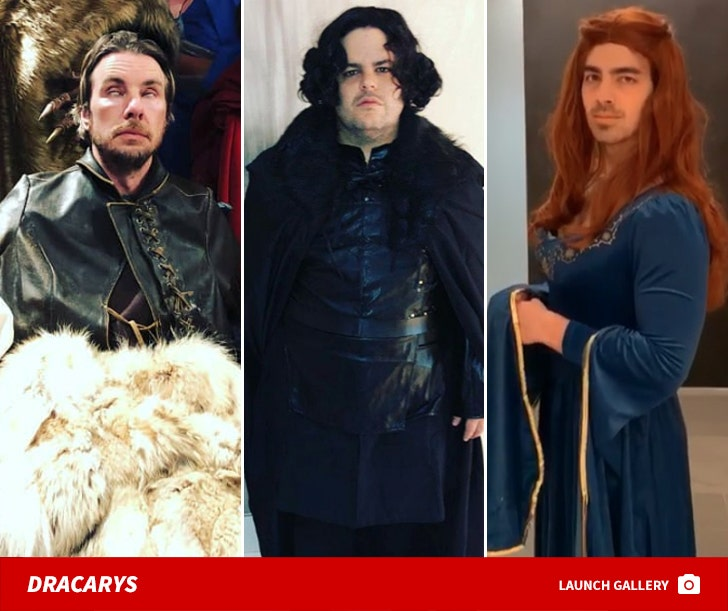 'Game Of Thrones' Celebrity Cosplay