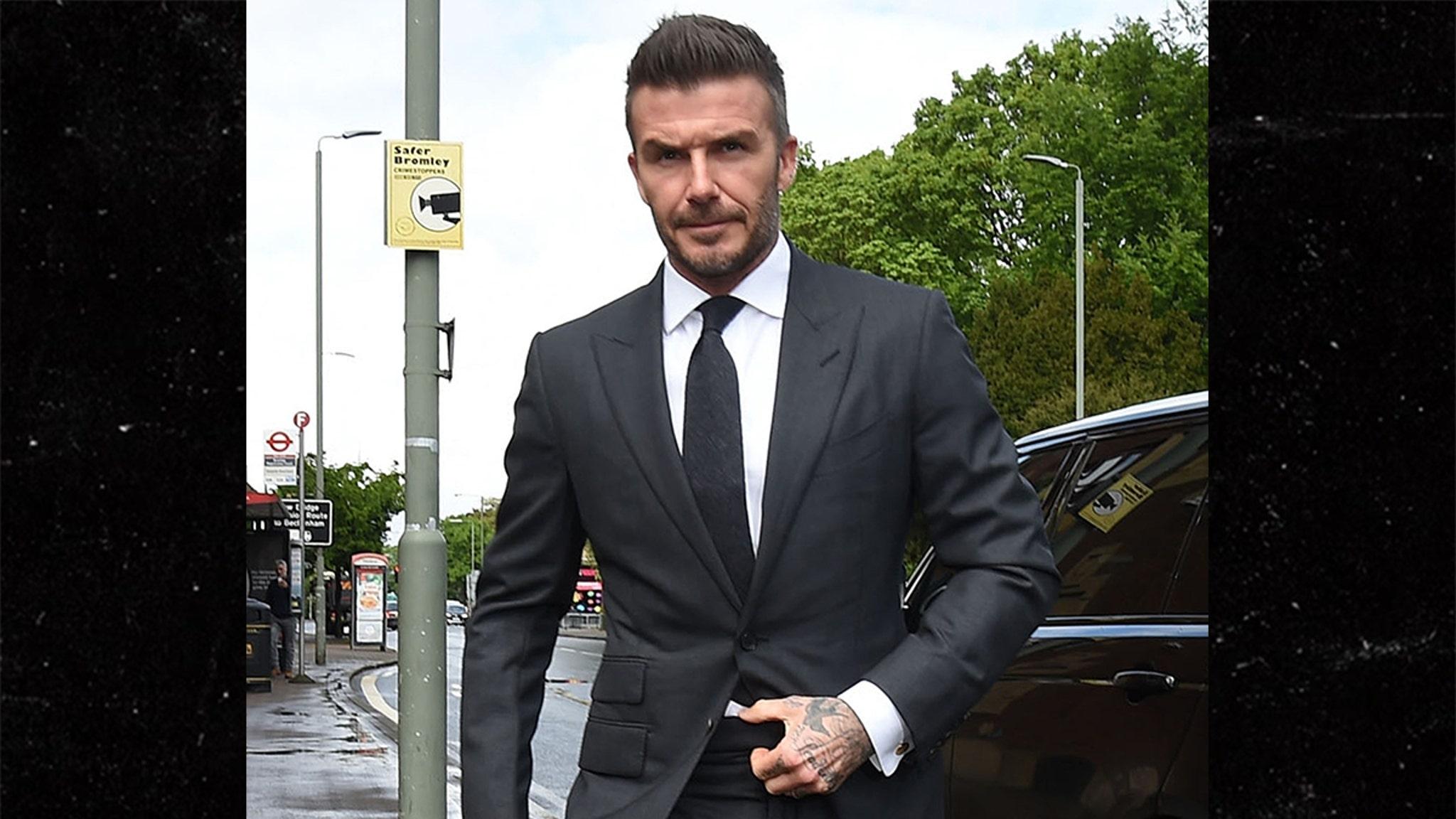 David Beckham Punished In Handsomest Court Appearance Ever