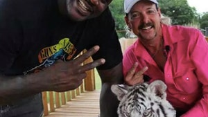 Shaq Fires Back at 'Tiger King' Critics, Joe Exotic Is NOT My Friend