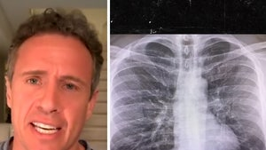 Chris Cuomo Shares Chest X-Ray and Reveals How He's Fighting COVID-19