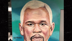 50 Cent Painted to Look Like Vice President Mike Pence