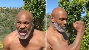 Mike Tyson Shows Off Insane Physique In Shirtless Training Vid, 6-Pack Abs!