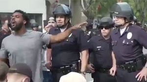 LAPD Chief Makes Peace with Protesters, Says George Floyd Was Murdered