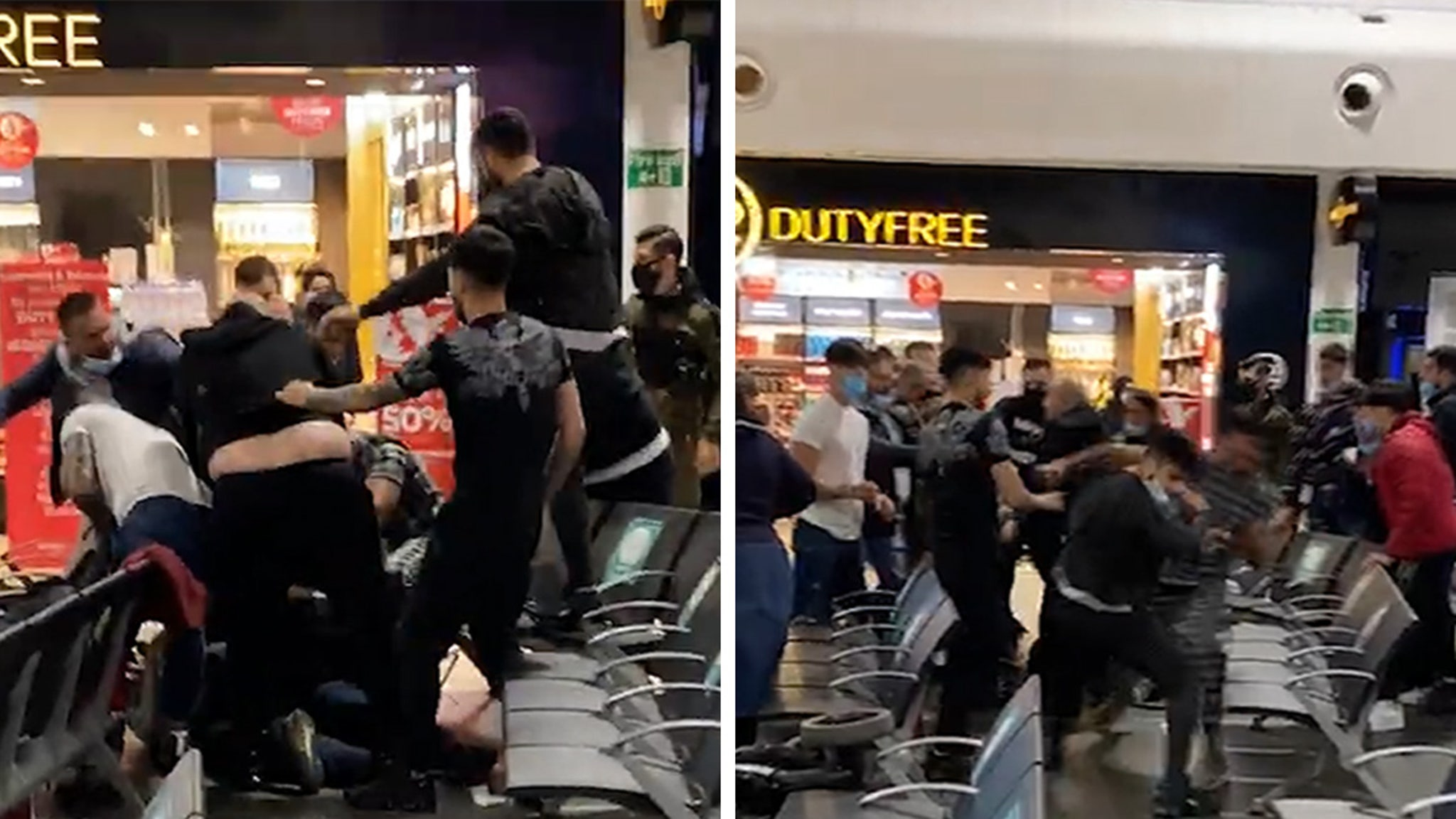 Massive Brawl at London Airport Results in 17 Arrests, Serious Injuries