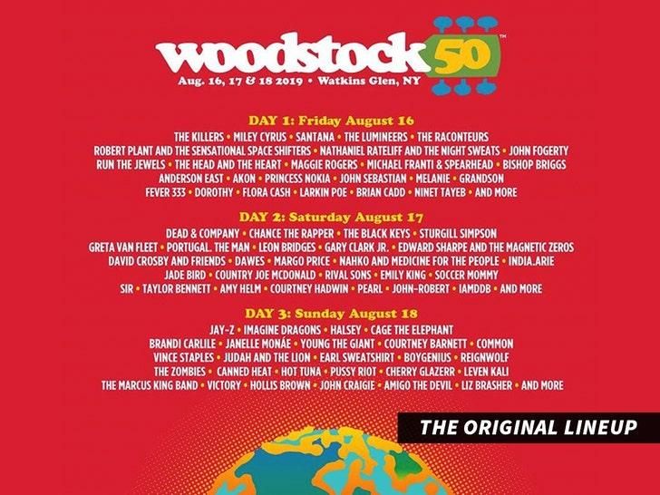 Woodstock 50 festival canceled