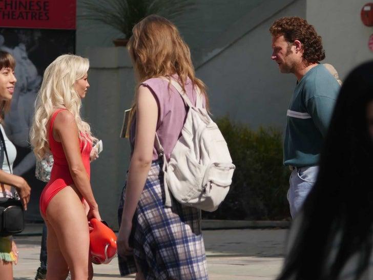 Seth Rogen Filming 'Pam & Tommy' Movie
