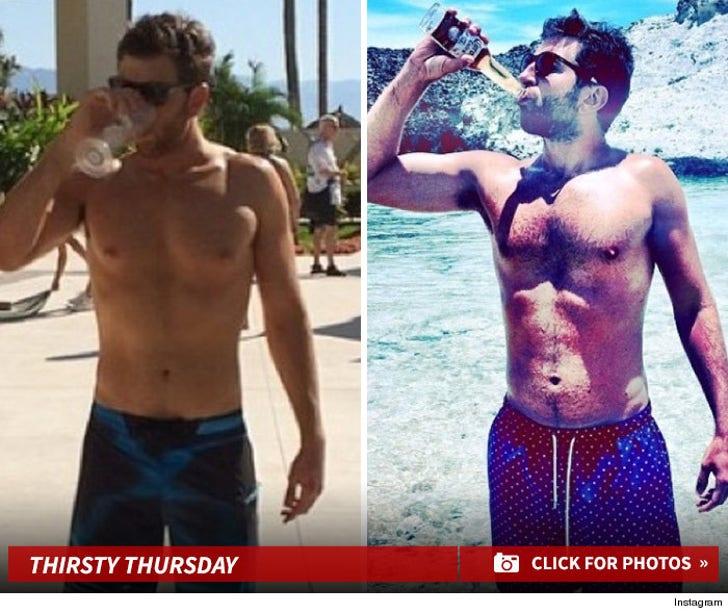 Brett Eldredge's Thirsty Snapshots!