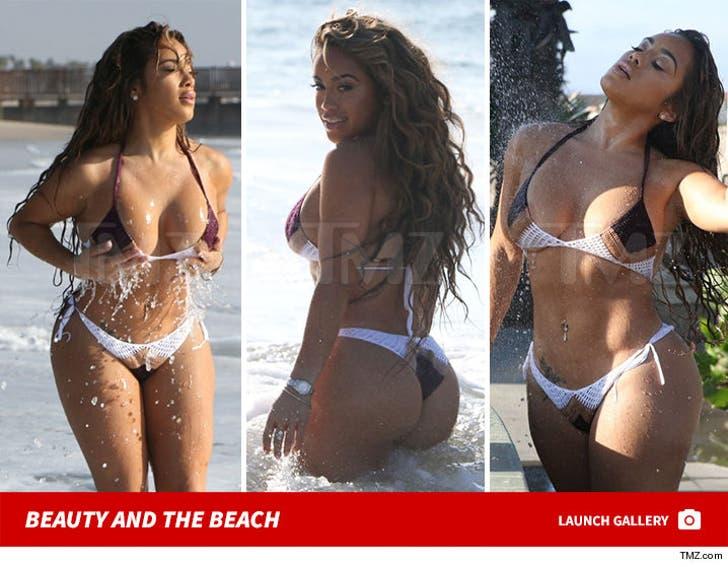 Jasmine Cadavid -- Beauty And The Beach