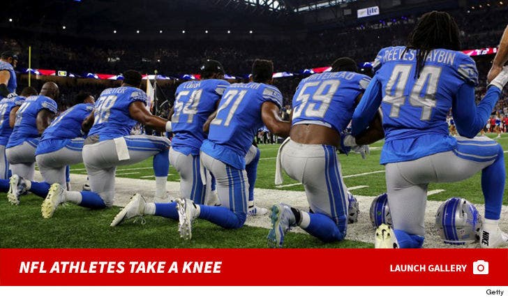 NFL Teams Taking a Knee