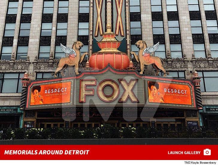 Aretha Franklin Memorials in Detroit