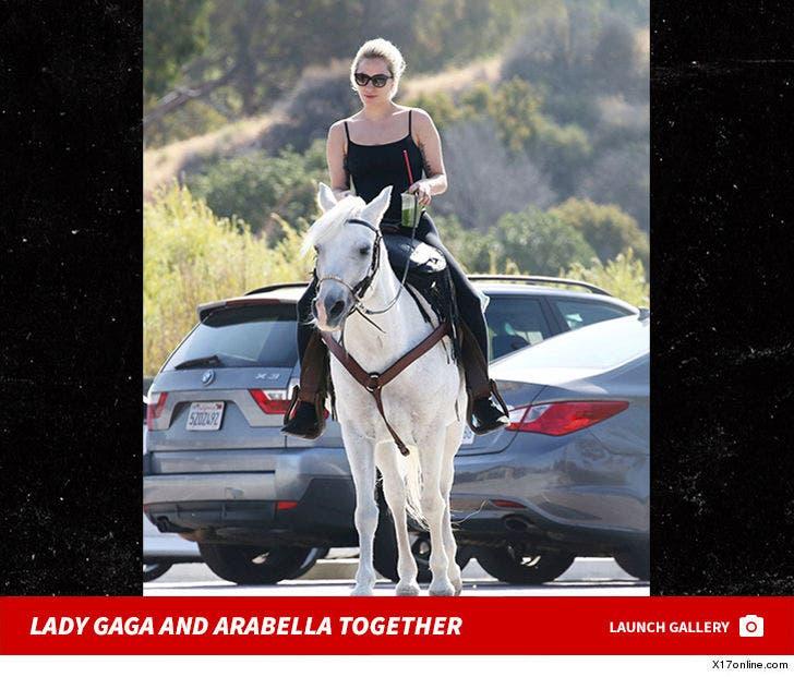 Lady Gaga And Arabella Together