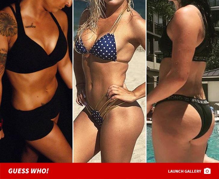 WWE Superstars Hot Bods -- Guess Who!