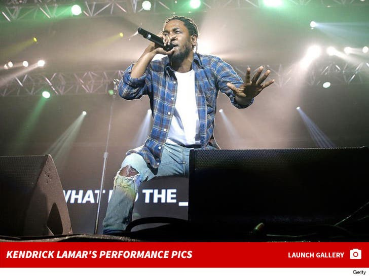 Kendrick Lamar's Performance Pics