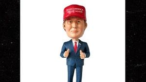 Donald Trump -- Yeah, His Head Bobbles But Don't Rip It Off ... Company Sues