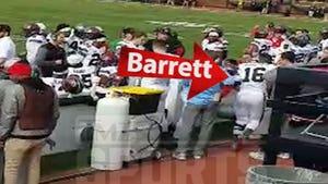 J.T. Barrett Camera Collision Aftermath Caught On Video