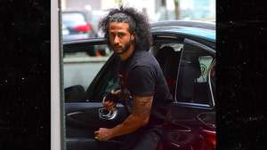 Colin Kaepernick Hits the Gym after Andrew Luck Retirement, Stayin' Ready