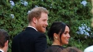 Prince Harry & Meghan Markle Arrive for Wedding, Katy & Orlando There Too