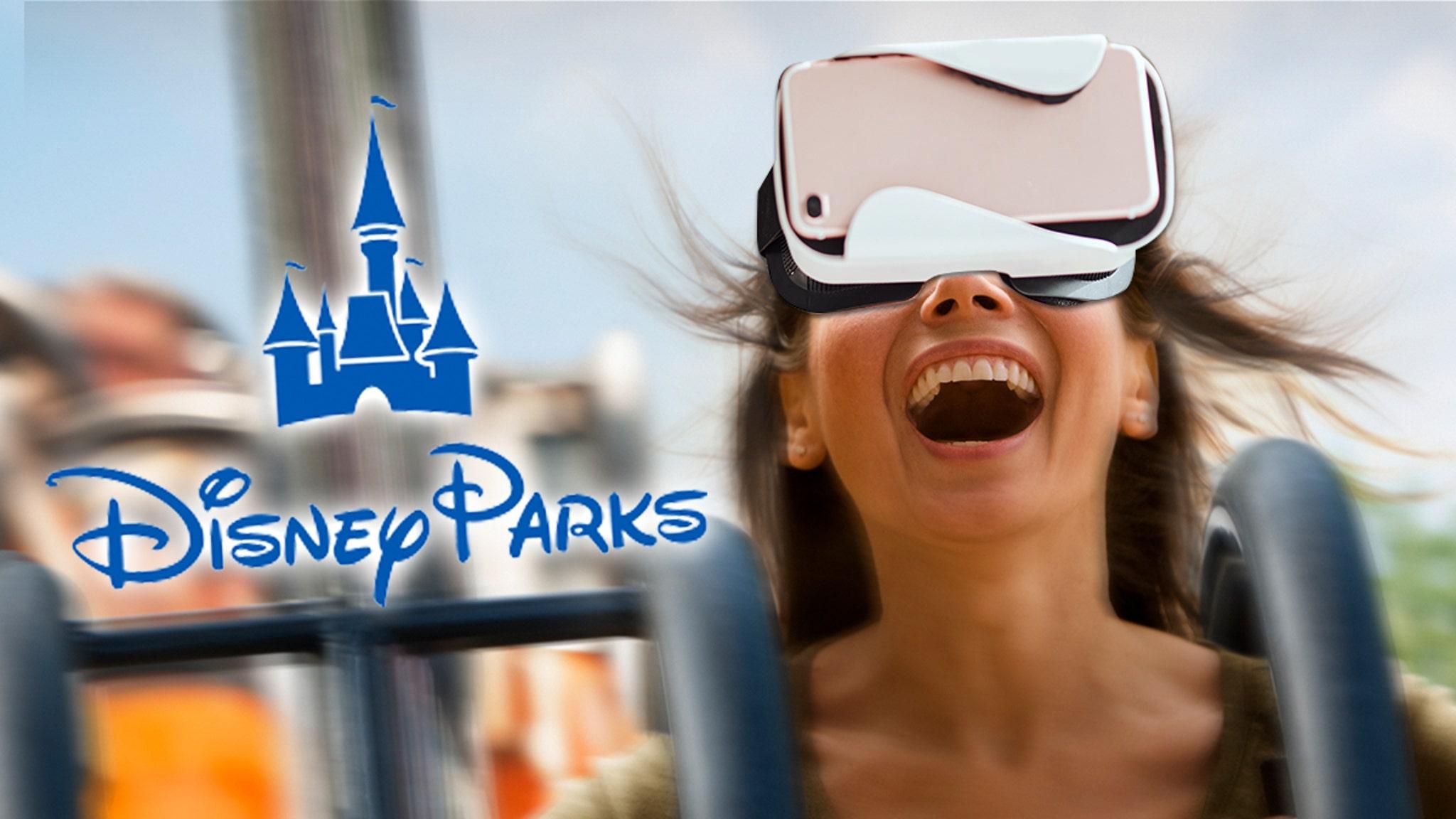 Disney Theme Park Rides Available via Virtual Reality YouTube Channel