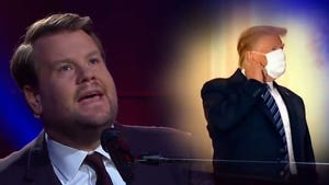 James Corden Drops Paul McCartney Parody Song About Trump's 'Immunity'