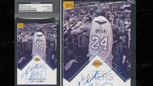 Kobe Bryant Signed Ticket From Final Game in NBA Sells For $40K At Auction