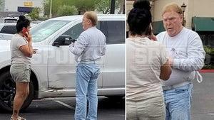 Raiders Owner Mark Davis In Parking Lot Crash, You Drive a Mini?