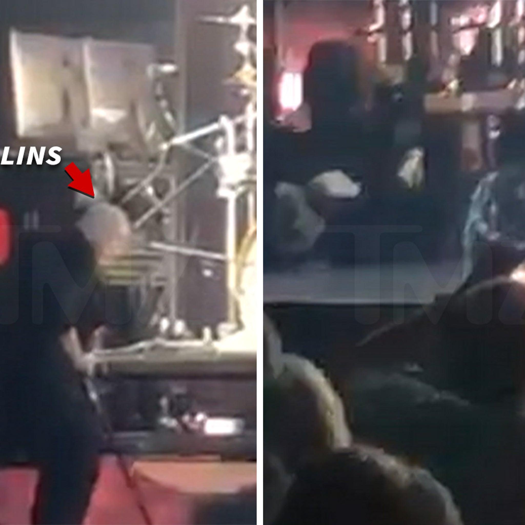 Phil Collins Falls Backward During Charlotte Concert