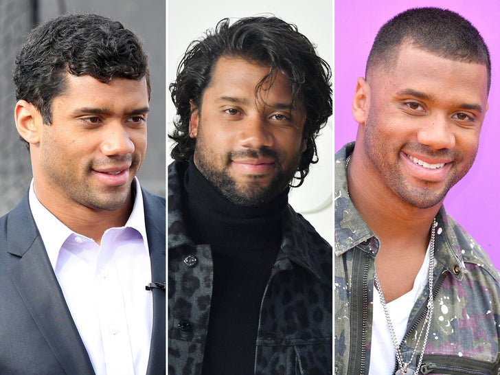 Russell Wilson's Hair Through The Years