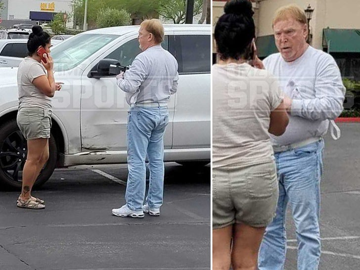 Raiders Owner Mark Davis In Parking Lot Crash