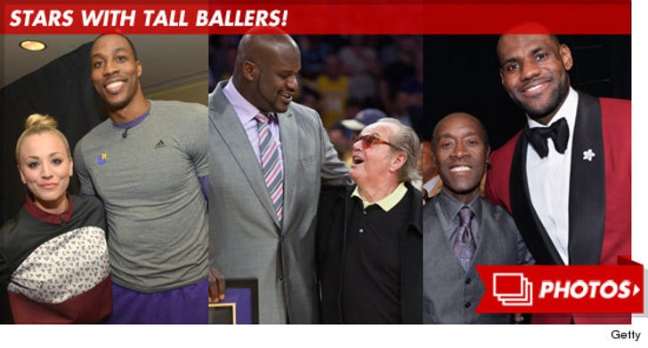 Stars with Tall Ballers!