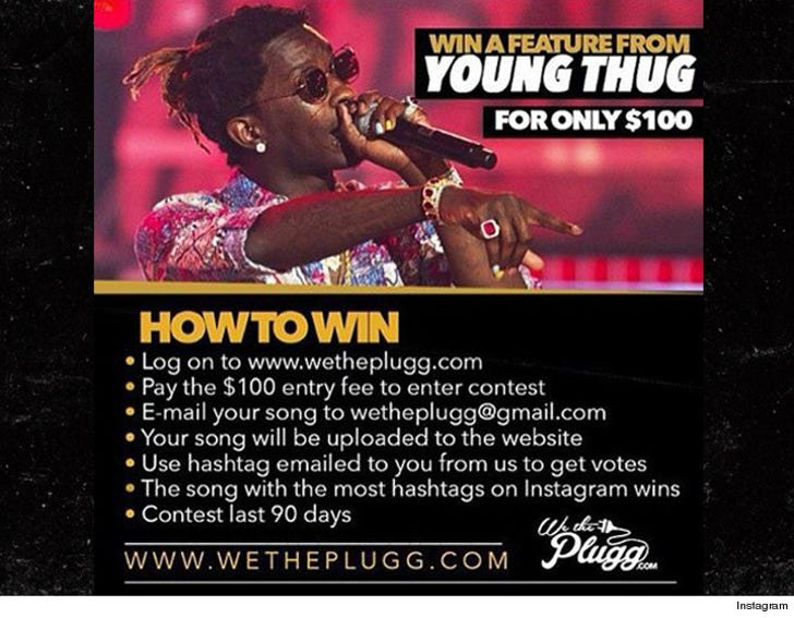 Young Thug Sued: We Paid for a Rap, You Gave Us JACK!
