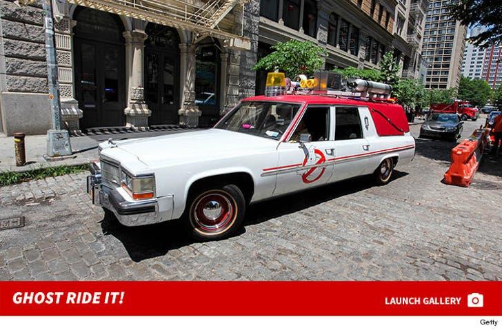 Ghostbusters Lyft Car