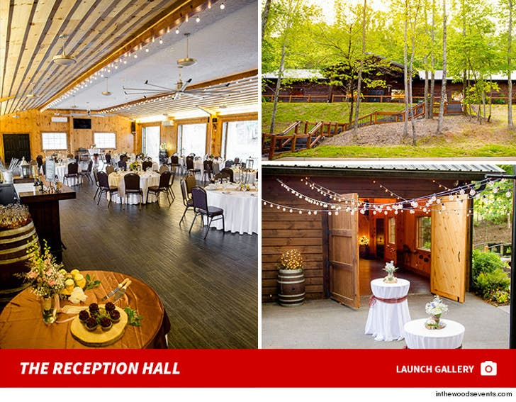 In The Woods Wedding Reception Hall