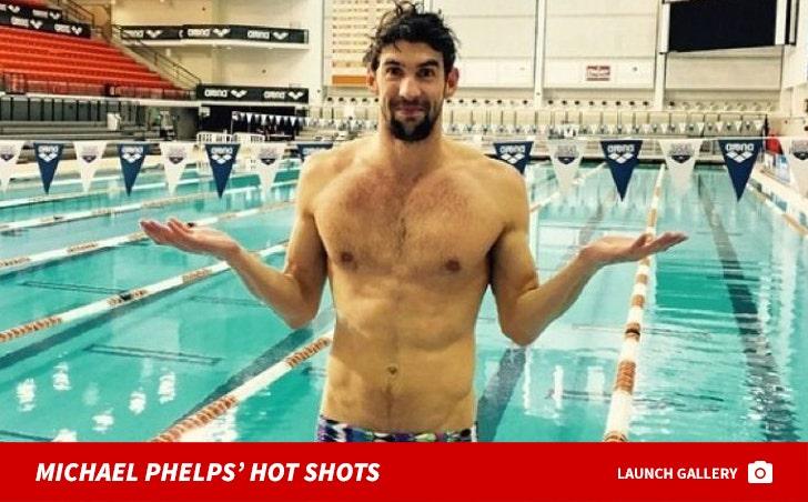 Michael Phelps' Shirtless Shots