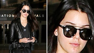 Kendall Jenner Has a Pimple