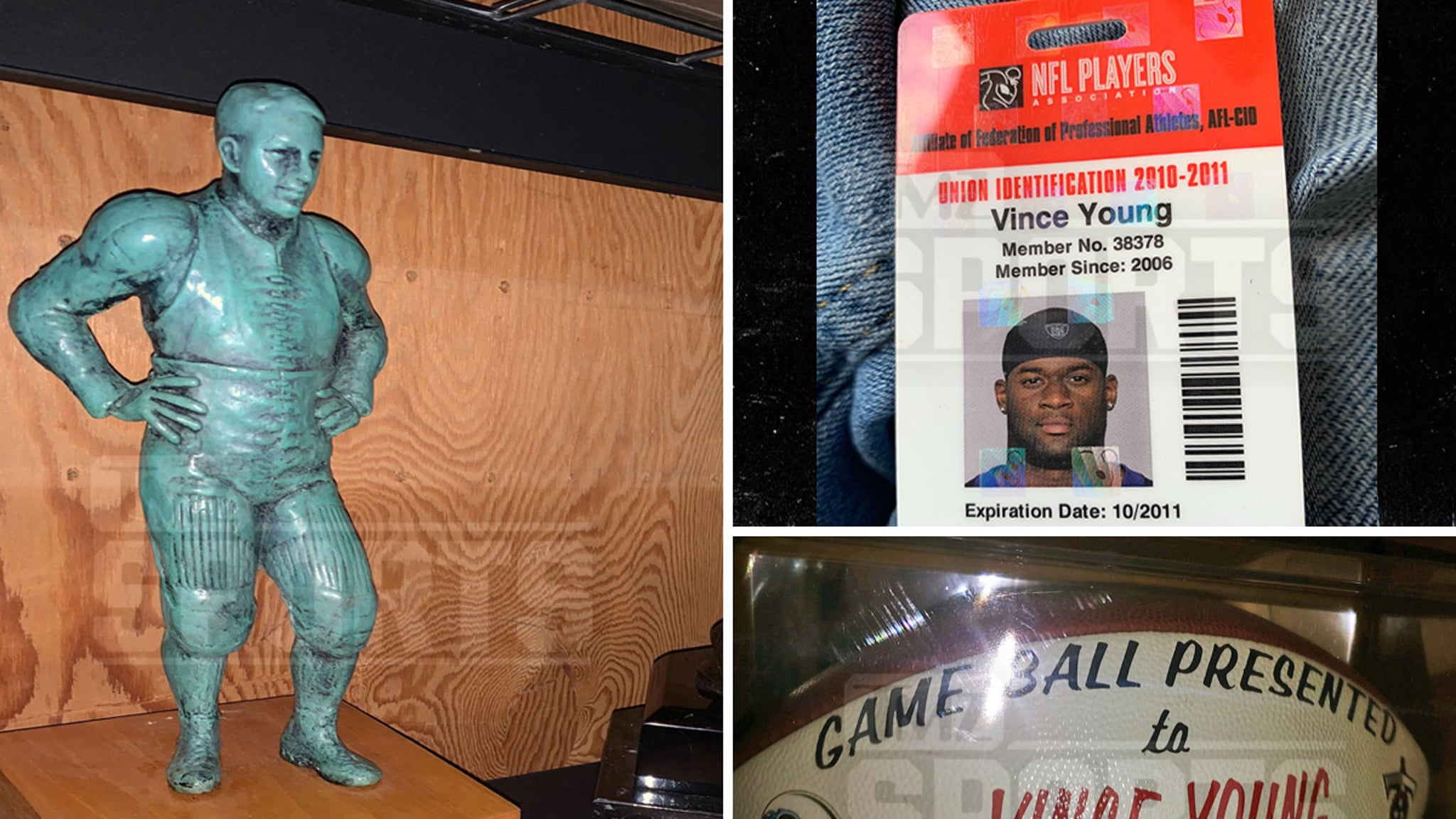 Vince Young Loses Treasured Awards & Trophies In Storage Unit Auction