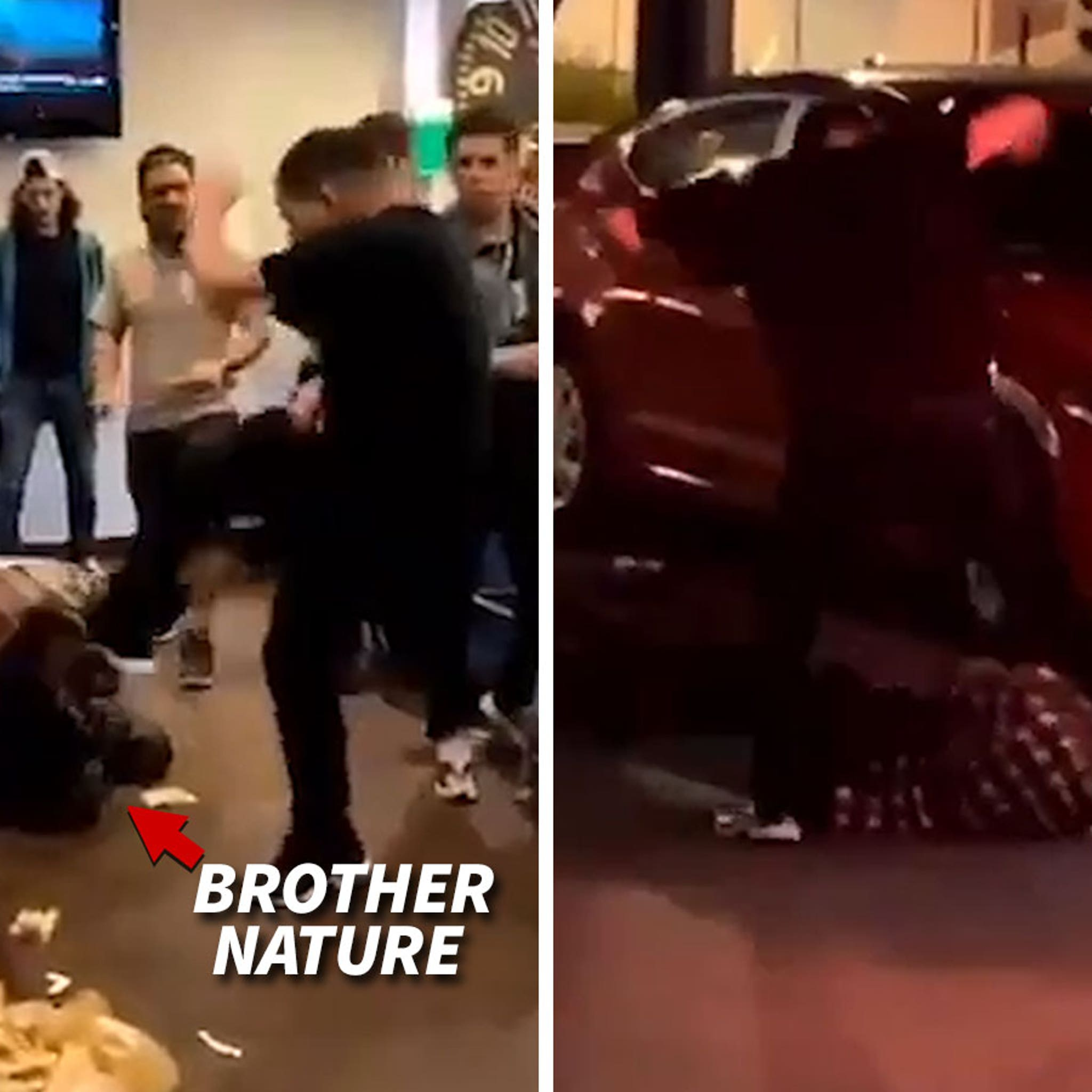 IG Influencer Brother Nature Attacked on Camera in Miami Restaurant