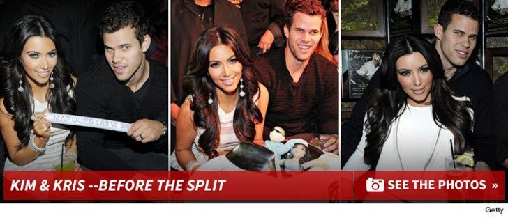 Kim Kardashian and Kris Humphries -- Happy Times