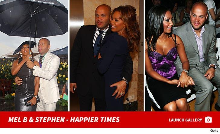 Mel B and Stephen Belafonte - Together Photos