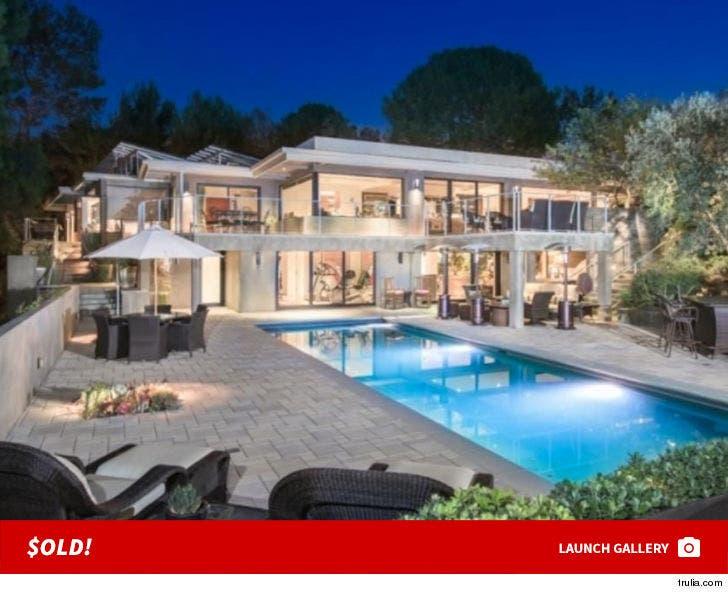 Jane Fonda's Beverly Hills Home