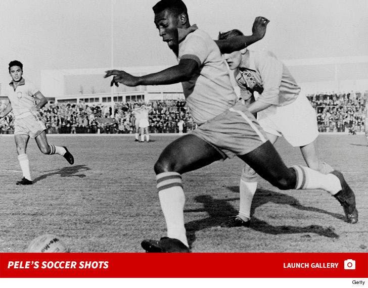 Pele Soccer Photos