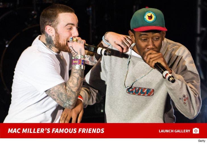 Mac Miller's Famous Friends