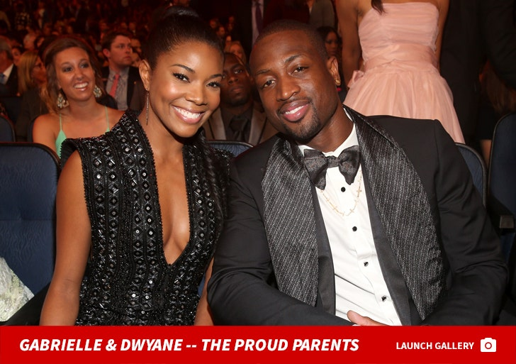 Gabrielle Union and Dwyane Wade Together